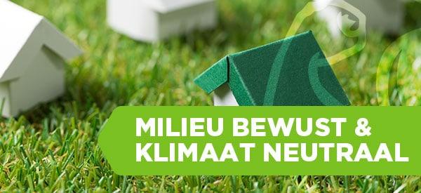 Milieu bewust en klimaat neutraal