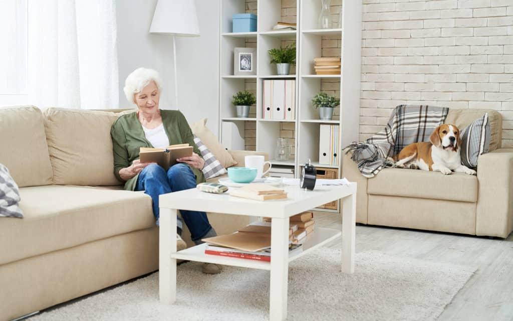 Ontruiming seniorenflat
