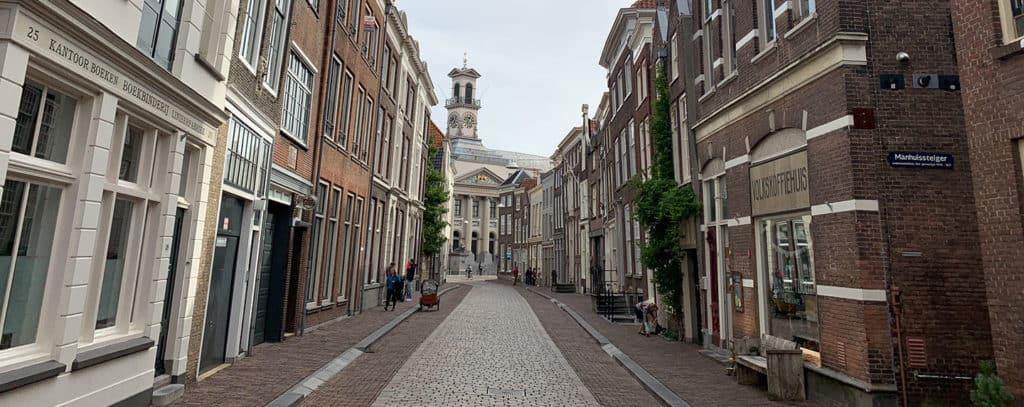 Ontruiming in Dordrecht centrum